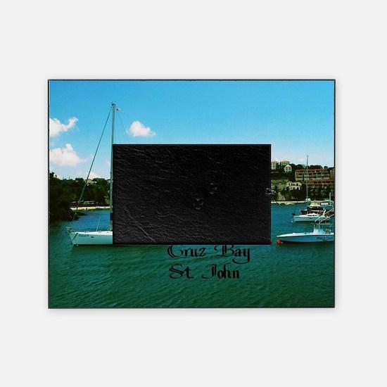 Cruz Bay St. John Picture Frame