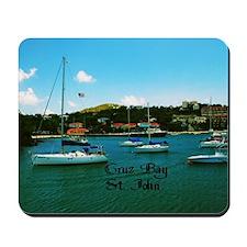 Cruz Bay St. John Mousepad