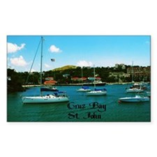 Cruz Bay St. John Decal