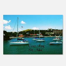 Cruz Bay St. John Postcards (Package of 8)