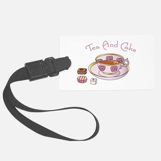 Tea And Cake Luggage Tag
