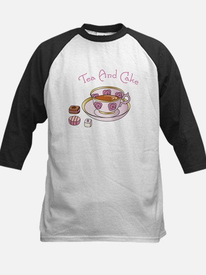 Tea And Cake Baseball Jersey