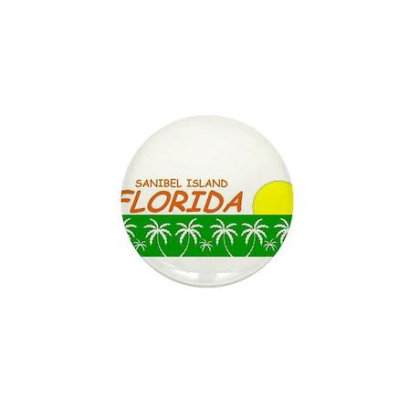 Sanibel Island, Florida Mini Button