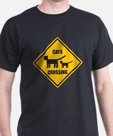 Cats Crossing T-Shirt