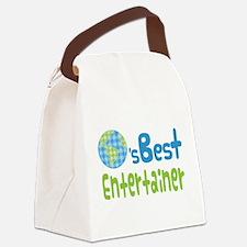Earths Best Entertainer Canvas Lunch Bag