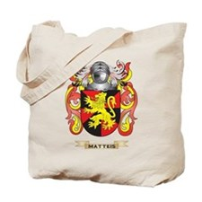 Matteis Coat of Arms - Family Crest Tote Bag