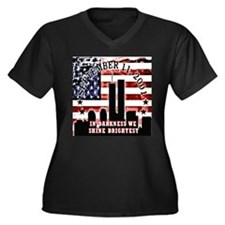 September 11 Never Forget Plus Size T-Shirt
