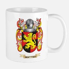 Matteo Coat of Arms - Family Crest Small Small Mug