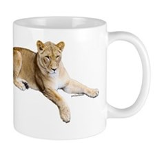 Resting lioness Mug