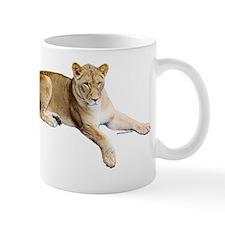 Resting lioness Small Mug
