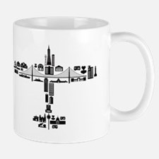 Airplane of SF Landmarks Mug