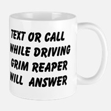 Text Or Call while Driving Grim Reaper will answer