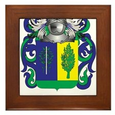 Matthias Coat of Arms - Family Crest Framed Tile