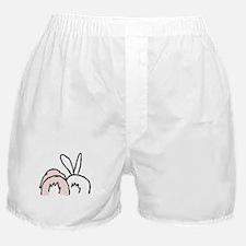 Cute Rabbits Boxer Shorts