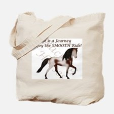 Racking Horse Smooth Journey Tote Bag
