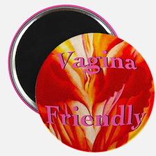 "Vagina Friendly 2.25"" Magnet (100 pack)"