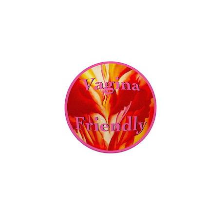 Vagina Friendly Mini Button (100 pack)
