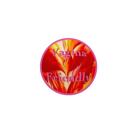 Vagina Friendly Mini Button