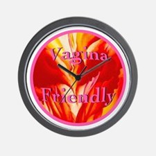 Vagina Friendly Wall Clock