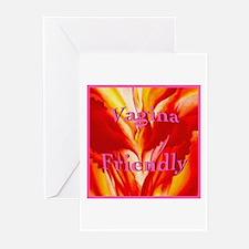 Vagina Friendly Greeting Cards (Pk of 10)