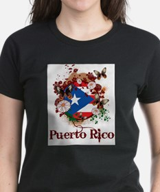 Butterfly Puerto Rico T-Shirt