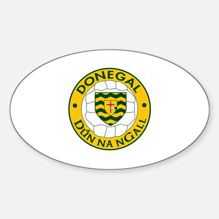 donegal oval sticker