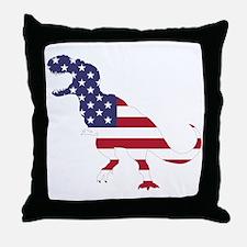 Tyrannosaurus (United States) Throw Pillow