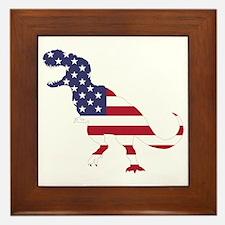 Tyrannosaurus (United States) Framed Tile