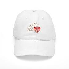 Love Love Love Baseball Baseball Cap