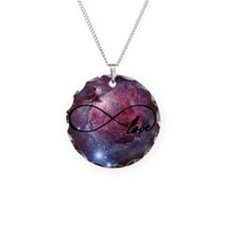 Infinite love nebula Necklace