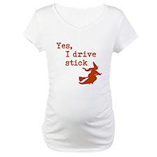Yes, I drive Stick (Orange) Shirt