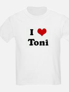 I Love Toni Kids T-Shirt