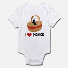 I Love Picnics Infant Bodysuit