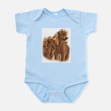 Golden Retriever Art Infant Bodysuit