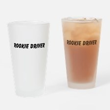 Rookie Driver Drinking Glass