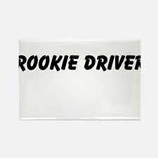 Rookie Driver Rectangle Magnet