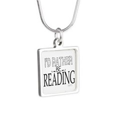 Rather Be Reading Necklaces
