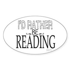 Rather Be Reading Decal
