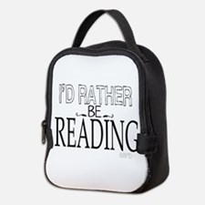 Rather Be Reading Neoprene Lunch Bag
