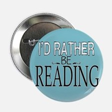 "Rather Be Reading 2.25"" Button (10 pack)"