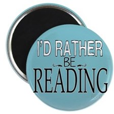 Rather Be Reading Magnet