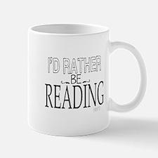 Rather Be Reading Mug