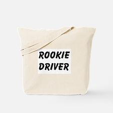Rookie Driver Tote Bag