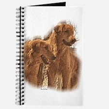Golden Retriever Art Journal