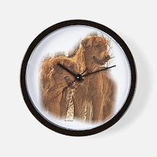 Golden Retriever Art Wall Clock