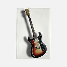 Electric Guitar Rectangle Magnet