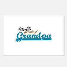 Worlds Greatest Grandpa Postcards (Package of 8)