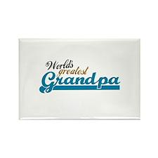 Worlds Greatest Grandpa Rectangle Magnet