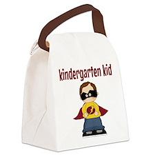 Kindergarten Kid Canvas Lunch Bag