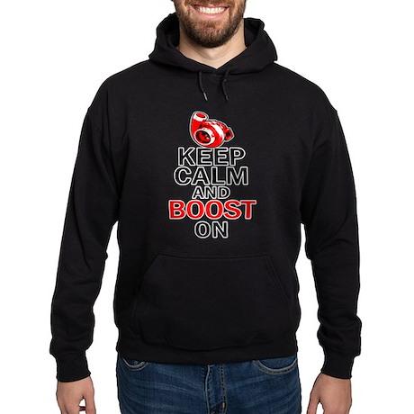 Turbo Boost - Keep Calm Hoodie (dark)